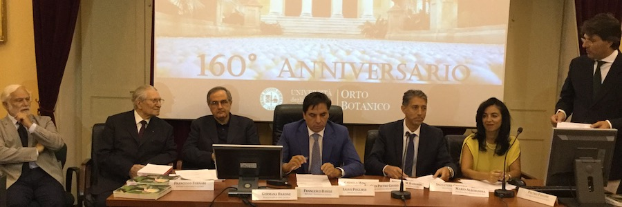 160 anniversario Orto botanico Catania