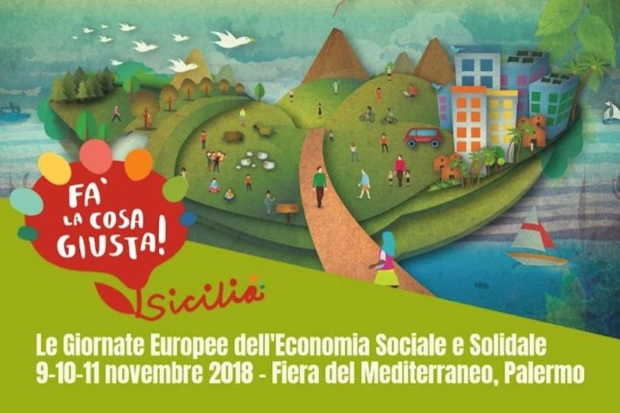 Economia sociale e solidale. L'etica del produrre dal 9 all'11 novembre a Palermo