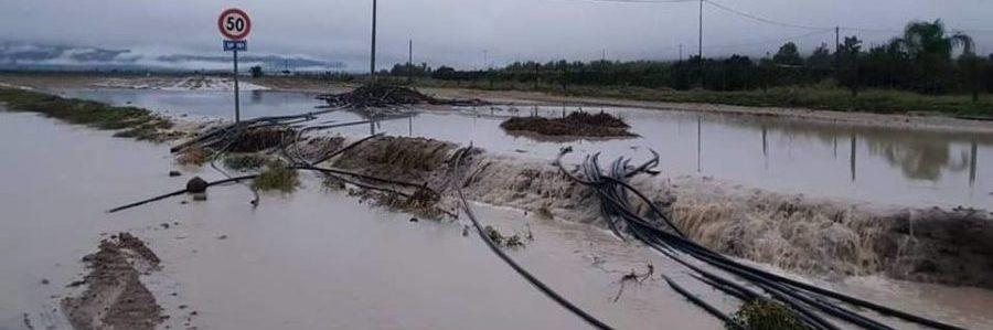 danni da maltempo e alluvione