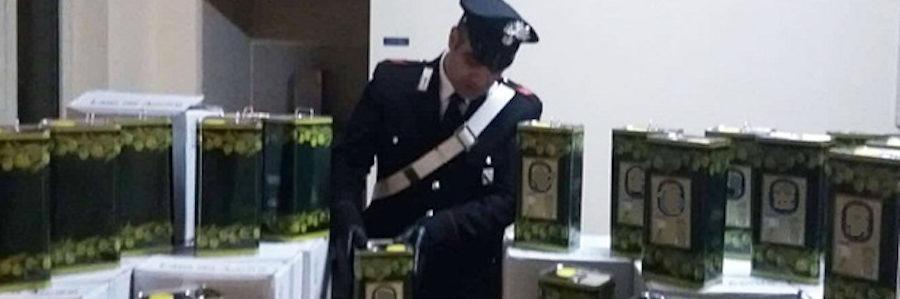 carabinieri sequestro olio