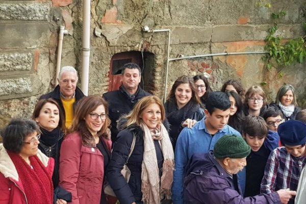 semina con gli studenti a Galati Mamertino