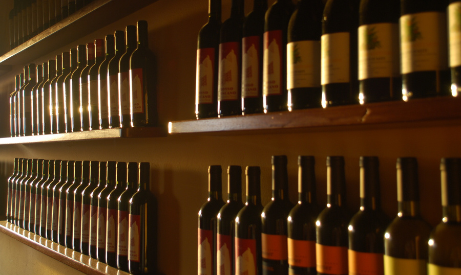 bottiglie vino Doc