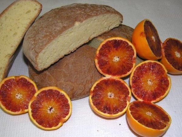Pane grano duro e fibre di agrumi
