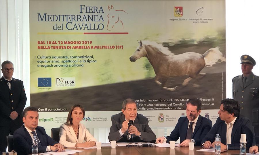 presentazione Fiera mediterranea del cavallo