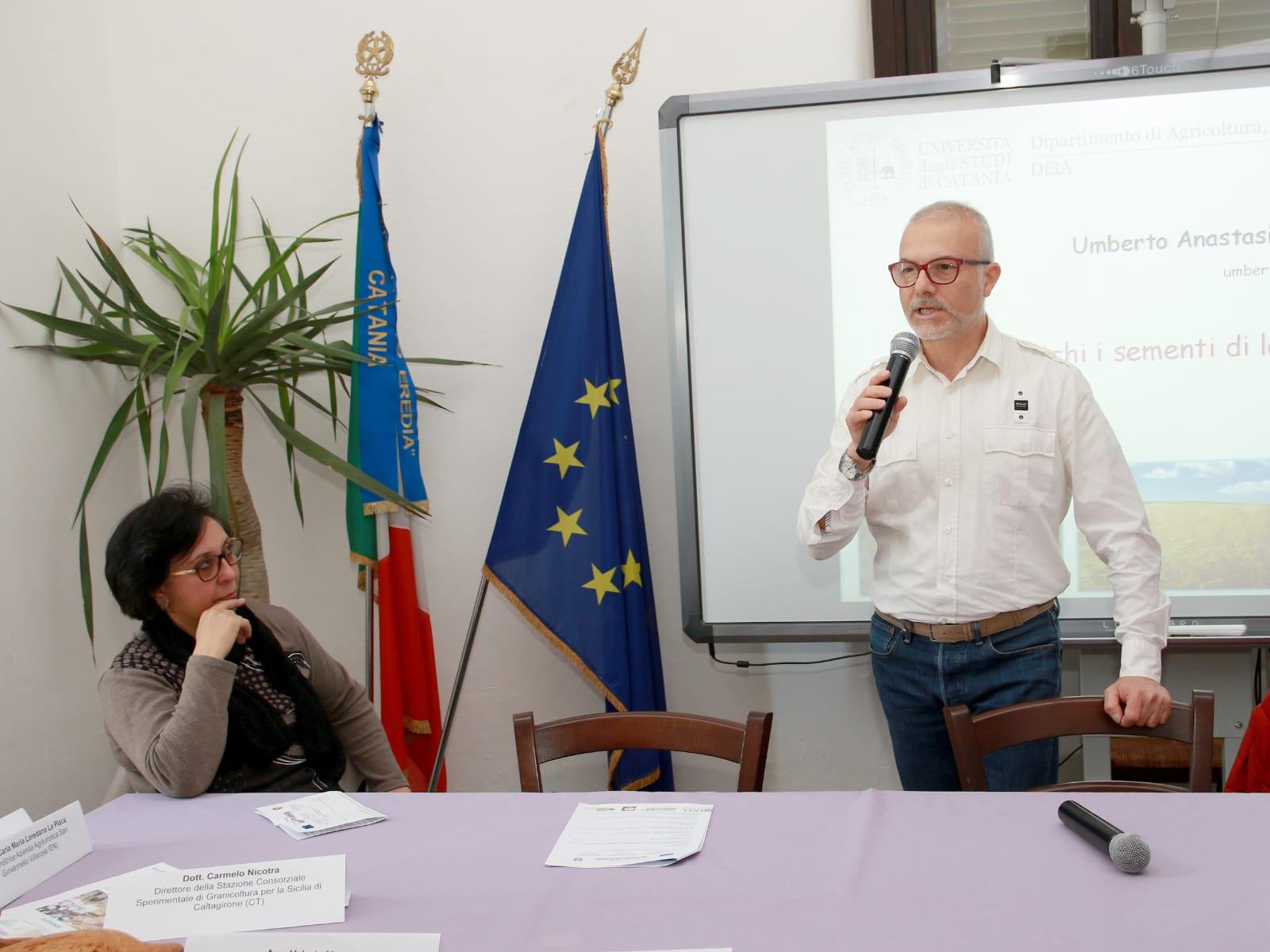 """Grande partecipazione per il seminario """"Grani'ntichi i sementi di la Sicilia"""" all'università di Catania"""