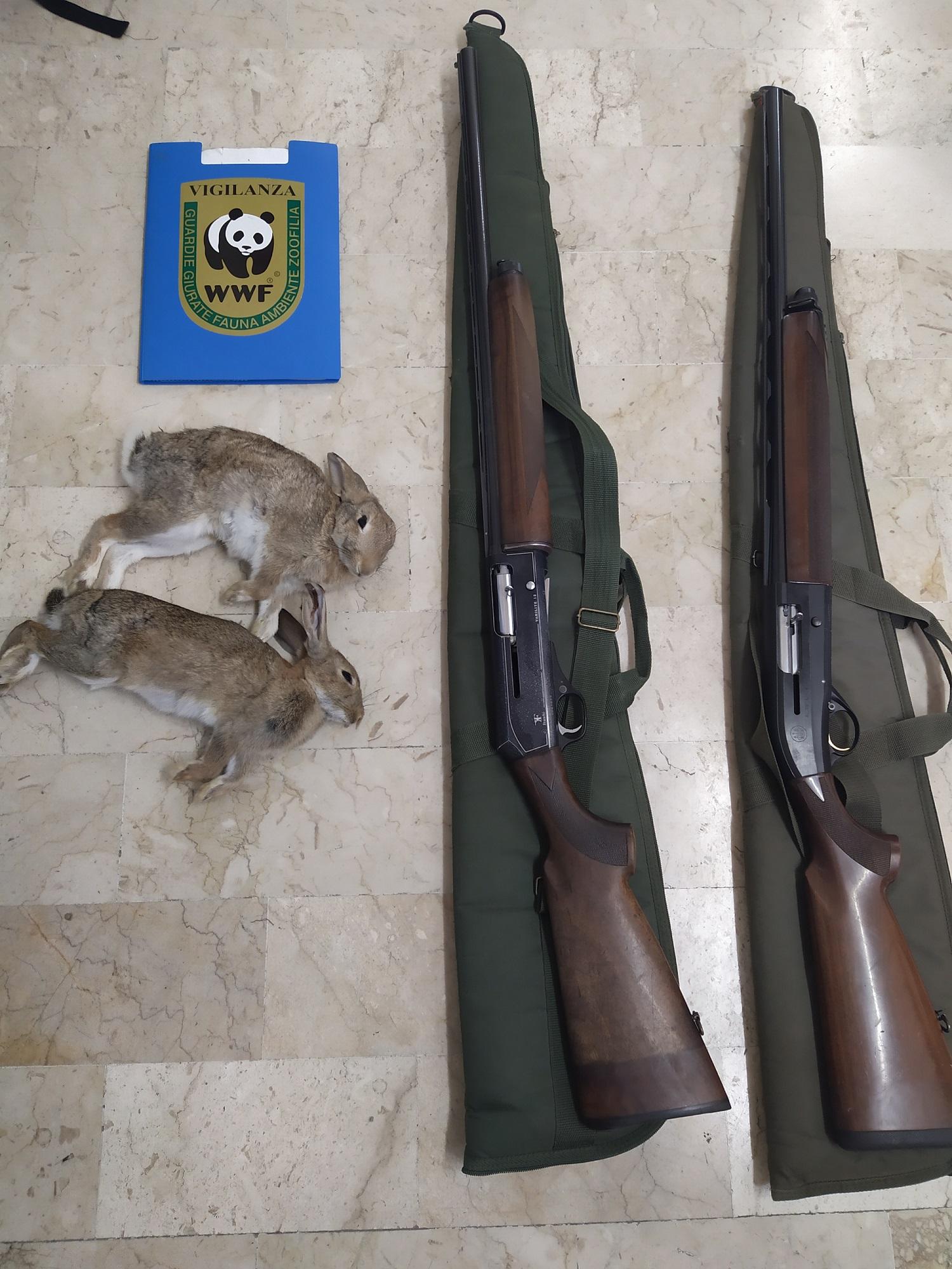 Caltanissetta, denunciati due cacciatori di frodo dalle guardie del WWF