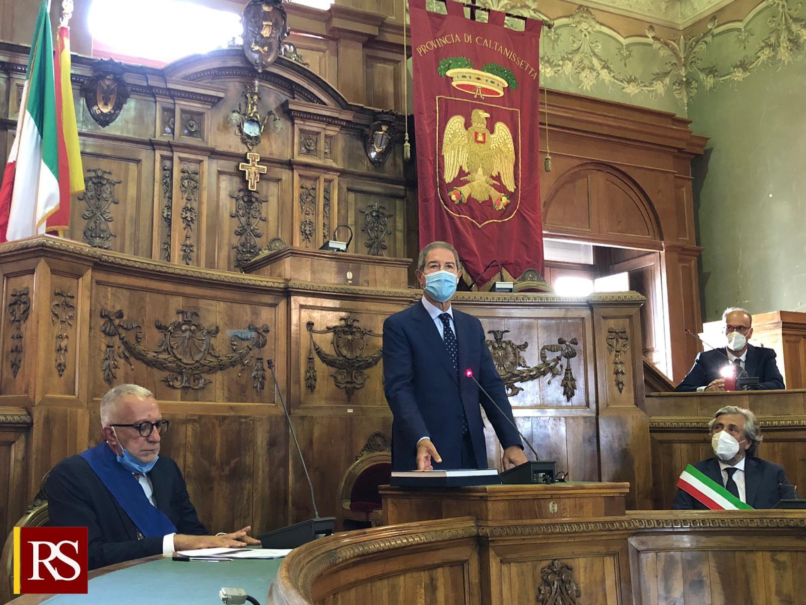 Caltanissetta, Musumeci: «La Regione ristruttura il Mercato ortofrutticolo»