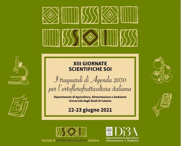 Il 22 e 23 giugno all'UNICT le giornate scientifiche sull'Ortoflorofrutticoltura